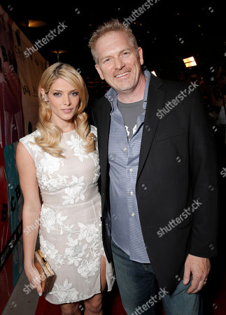 Ashley Greene and Director Randall Miller attend the CBGB West Coast Premiere Powered by Ciroc at the ArcLight Hollywood on in Beverly Hills, Calif