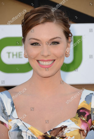 Kaitlyn Black arrives at the CBS, CW and Showtime TCA party at The Beverly Hilton on in Beverly Hills, Calif