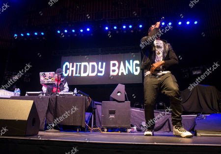 Stock Photo of Chiddy Bang performs during the People Keep Talking World Tour at The Tabernacle, in Atlanta