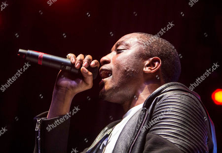 Stock Picture of Chiddy Bang performs during the People Keep Talking World Tour at The Tabernacle, in Atlanta