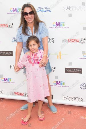 Samantha Yanks and Sadie Yanks attend The Children's Museum of the East End's 6th Annual Family Fair in Bridgehampton, in New York