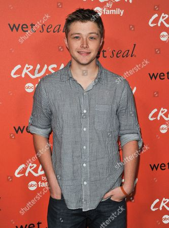 Sterling Knight arrives at the launch party for Crush by ABC Family at The London Hotel on in West Hollywood, Calif