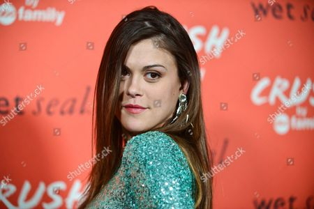 Lindsey Shaw arrives at the launch party for Crush by ABC Family at The London Hotel on in West Hollywood, Calif