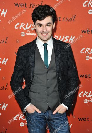 Brendan Robinson arrives at the launch party for Crush by ABC Family at The London Hotel on in West Hollywood, Calif