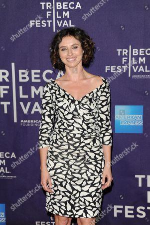 "Filmmaker Neta Zwebner-Zailbert attends the ""Dancing In Jaffa"" premiere during the 2013 Tribeca Film Festival on in New York"