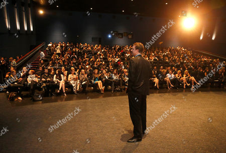 President of Millennium Films Mark Gill attends the DeLeon Tequila special screening of The Iceman at the Arclight on in Los Angeles