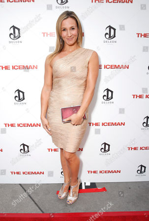 Sarah Farooqui attends the DeLeon Tequila special screening of The Iceman at the Arclight on in Los Angeles