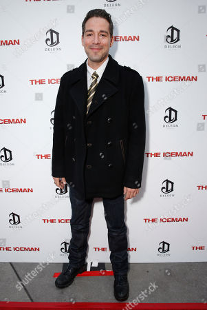 Stock Picture of Hector Hank attends the DeLeon Tequila special screening of The Iceman at the Arclight on in Los Angeles