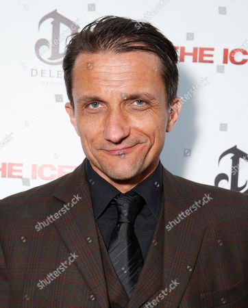 Stock Picture of Zoran Radanovich attends the DeLeon Tequila special screening of The Iceman at the Arclight on in Los Angeles
