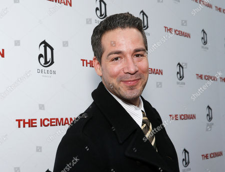 Stock Image of Hector Hank attends the DeLeon Tequila special screening of The Iceman at the Arclight on in Los Angeles