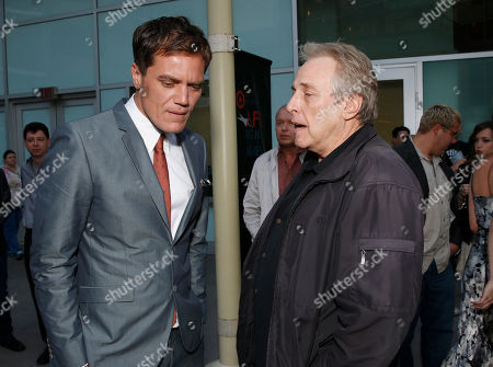 Michael Shannon and Chuck Roven attend the DeLeon Tequila special screening of The Iceman at the Arclight on in Los Angeles