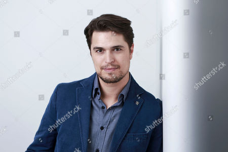 "Portuguese actor Diogo Morgado poses for a portrait in promotion of his role in the upcoming CW Network series ""The Messengers"" in New York. The series airs Fridays at 9 p.m. EDT"