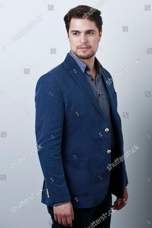 "Portuguese actor Diogo Morgado poses for a portrait in promotion of his role in the upcoming CW Network series ""The Messengers"" on in New York"