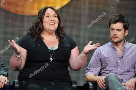 Actors Lorraine Bruce and Matt Long attend the Disney/ABC Television Group's 2013 Summer TCA panel at the Beverly Hilton Hotel on in Beverly Hills, Calif