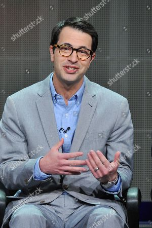 Producer Edward Kitsis attends the Disney/ABC Television Group's 2013 Summer TCA panel at the Beverly Hilton Hotel on in Beverly Hills, Calif