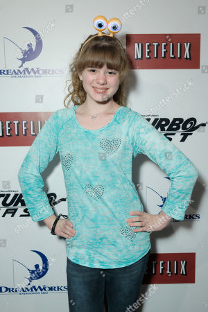 Piper Reese attends DreamWorks Animation and Netflix's Turbo FAST Los Angeles Premiere Event, on in West Hollywood, Calif