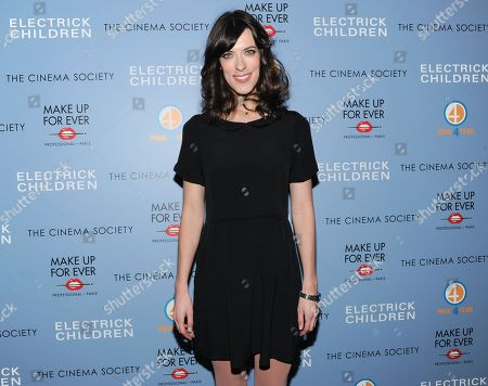 """Writer and director Rebecca Thomas attends a special screening of """"Electrick Children"""" hosted by the Cinema Society and Make Up For Ever at the IFC Center on in New York"""