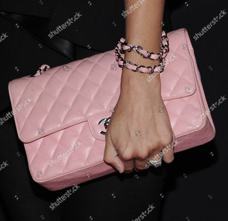 Jacey Duprie arrives at Elyse Walker's 10th Annual Pink Party, in Santa Monica, Calif
