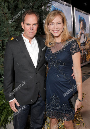 Cathryn de Prume (right) and husband attend the Los Angeles Premiere of Fox Searchlight's 'Wild' at AMPAS Samuel Goldwyn Theater on in Los Angeles