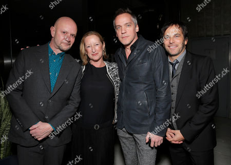 Writer Nick Hornby, Fox Searchlight President of Production Claudia Lewis, Director Jean-Marc Vallee and Executive Producer Nathan Ross attend the Los Angeles Premiere of Fox Searchlight's 'Wild' at AMPAS Samuel Goldwyn Theater on in Los Angeles