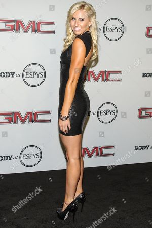 Professional funny car driver Courtney Force at the Body at ESPYS Party sponsored by Hennessy V.S on at Lure in Los Angeles, CA