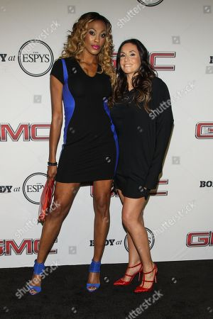 Professional volleyball players Kim Glass (L) and Lindsey Berg at the Body at ESPYS Party sponsored by Hennessy V.S on at Lure in Los Angeles, CA