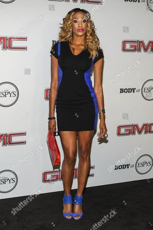 Professional volleyball player Kim Glass arrives at the Body at ESPYS Party sponsored by Hennessy V.S. at Lure, on in Los Angeles