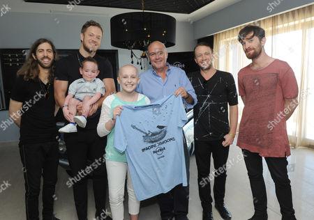 Editorial photo of Imagine Dragons and Hard Rock Partner to Benefit the Tyler Robinson Foundation, Riviera Maya, Mexico - 20 Jan 2015