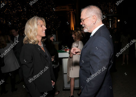 Rory Kennedy and IDA Executive Director Michael Lumpkin attend the International Documentary Association's 2014 IDA Documentary Awards at Paramount Studios on in Los Angeles