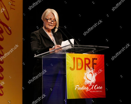Marcy Carsey attends the JDRF LA's 10th Annual Finding A Cure: The Love Story Gala at the Hyatt Regency Century Plaza on in Century City, California