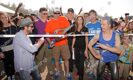 Editorial photo of JDRF's Los Angeles Walk to Cure Diabetes, Pasadena, USA - 27 Oct 2013