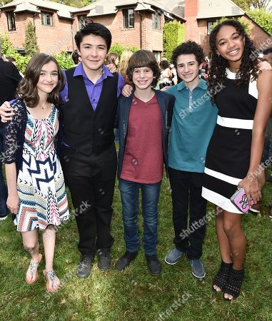 """Editorial image of Just Jared Jr.'s Fall Fun Day Celebrating Season 2 of Amazon Prime's """"Gortimer Gibbon's Life on Normal Street"""", Los Angeles, USA - 24 Oct 2015"""