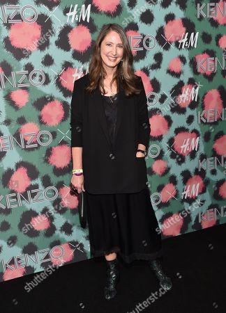 H&M design head Ann-Sofie Johansson attends the Kenzo x H&M Runway Show at Pier 36, in New York