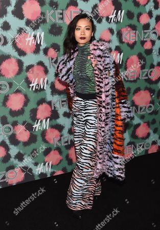 Editorial photo of Kenzo x H&M Runway Show, New York, USA - 19 Oct 2016
