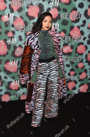 Vietnamese singer Suboi attends the Kenzo x H&M Runway Show at Pier 36, in New York