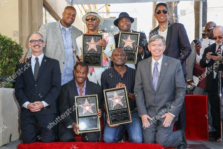 Editorial photo of Kool and The Gang Honored With a Star on the Hollywood Walk of Fame, Los Angeles, USA - 8 Oct 2015