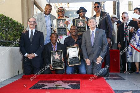 Editorial image of Kool and The Gang Honored With a Star on the Hollywood Walk of Fame, Los Angeles, USA - 8 Oct 2015
