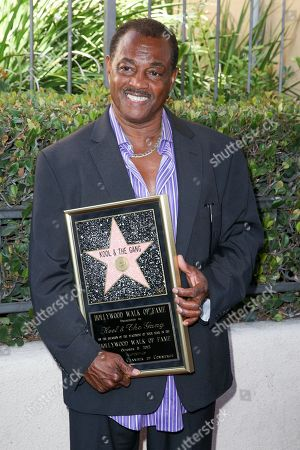 """Robert """"Kool"""" Bell attends a ceremony honoring Kool and The Gang with a star on The Hollywood Walk of Fame, in Los Angeles"""