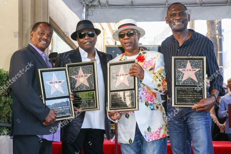 Editorial picture of Kool and The Gang Honored With a Star on the Hollywood Walk of Fame, Los Angeles, USA - 8 Oct 2015