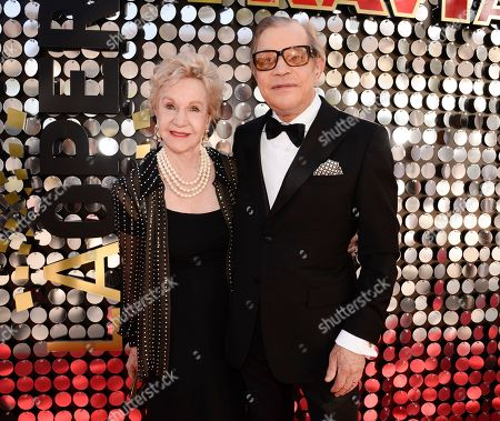 Actor Michael York, right, and his wife Pat York attend the LA Opera 2014-2015 season opening night performance of La Traviata at the Dorothy Chandler Pavilion on in Los Angeles