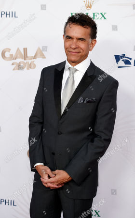 Musical performer Brian Stokes Mitchell poses at the Los Angeles Philharmonic's Walt Disney Concert Hall Opening Night Concert and Gala, in Los Angeles