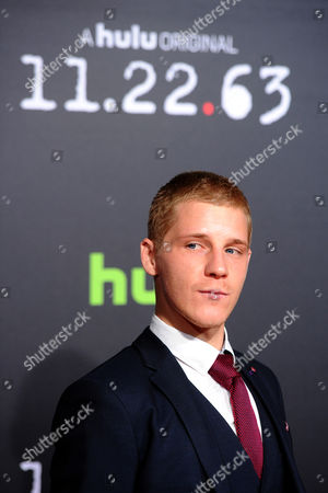 """Actor Daniel Webber is seen at the premiere of the Hulu Original Series """"11.22.63"""" at The Bruin Theatre on in Los Angeles"""