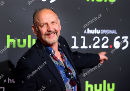 """Actor Nick Searcy is seen at the premiere of the Hulu Original Series """"11.22.63"""" at The Bruin Theatre on in Los Angeles"""