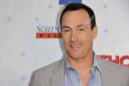 "Chris Klein arrive at the LA Premiere of ""Authors Anonymous"", in Los Angeles"