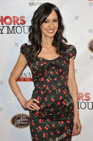 """Charlene Amoia arrives at the LA Premiere of """"Authors Anonymous"""", in Los Angeles"""