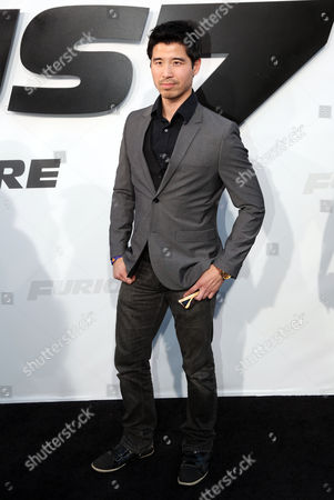 "Jon Lee Brody arrives at the premiere of ""Furious 7"" at the TCL Chinese Theatre IMAX, in Los Angeles"