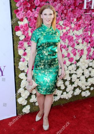 """Lucy Walsh arrives at the Los Angeles premiere of """"Mother's Day"""" at the TCL Chinese Theatre on"""