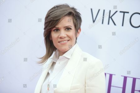 """Cameron Esposito arrives at the Los Angeles premiere of """"Mother's Day"""" at the TCL Chinese Theatre on"""