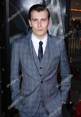 """Cameron Moir arrives at the Los Angeles premiere of """"Non-Stop"""" at the Westwood Regency Village Theater on"""