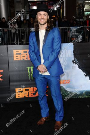 """Stock Photo of Louie Vito attends the LA Premiere of """"Point Break"""" held at TCL Chinese Theater on Tuesday, Dec.15, 2015, in Los Angeles"""